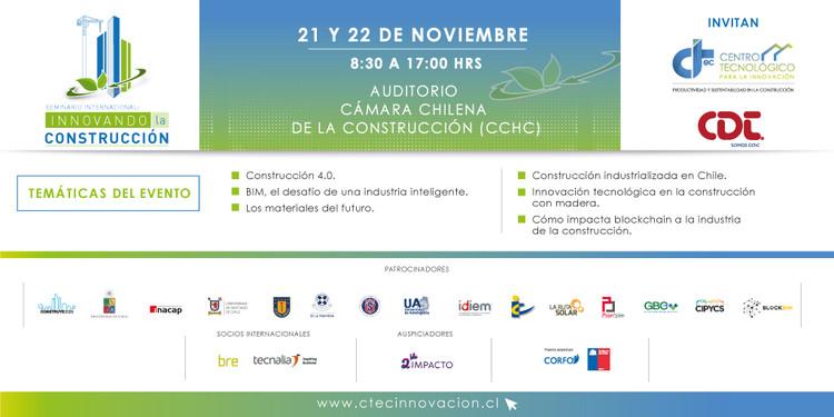 Seminario Internacional: Innovando la Construcción , Imagen desarrollada por CTeC Innovación