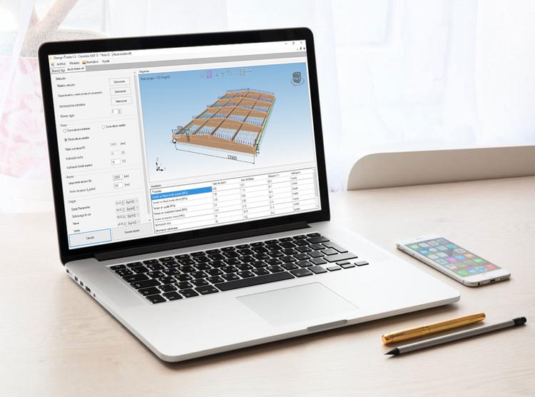 Eligemadera.com: software y curso online de estructuras en madera, Software C+T