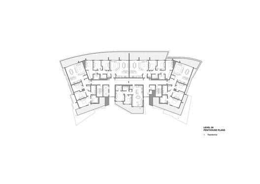 Nineth floor plan
