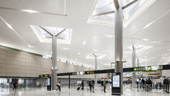 Hongqiao International Airport T1 Renovation and GTC / ECADI