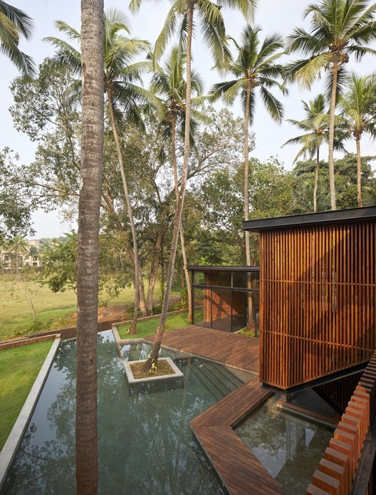 Villa in the Palms / Abraham John Architects, © Edmund Sumner
