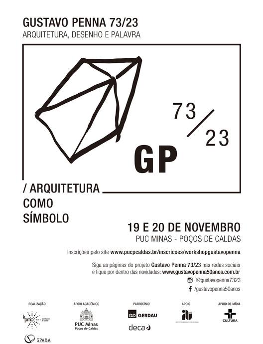 Workshop Arquitetura como Símbolo, Cartaz