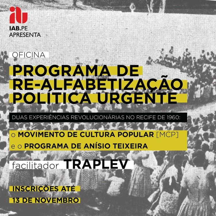 Programa de re-alfabetização política e formação crítica