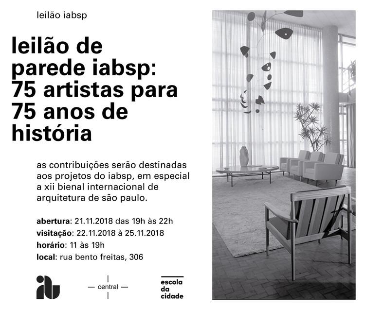 IAB leilão de parede: 75 artistas para 75 anos de história, leilao_parede_iabsp