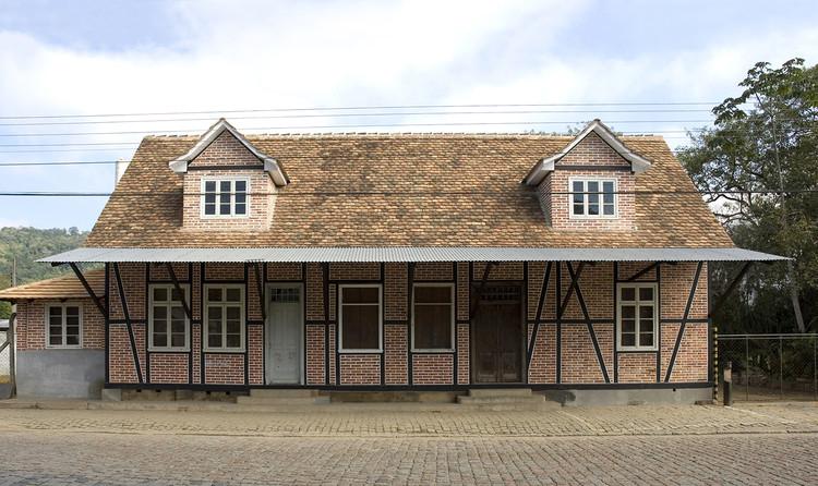 Pomerode recebe projeto para preservação de conjunto histórico enxaimel, Comércio Weege. Image © Acervo Iphan/SC