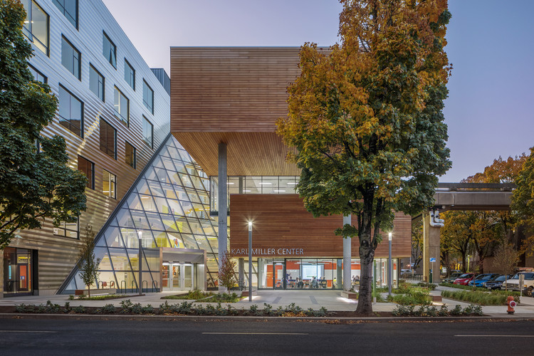 Karl Miller Center, Portland State University / Behnisch Architekten + SRG Partnership, © Brad Feinknopf