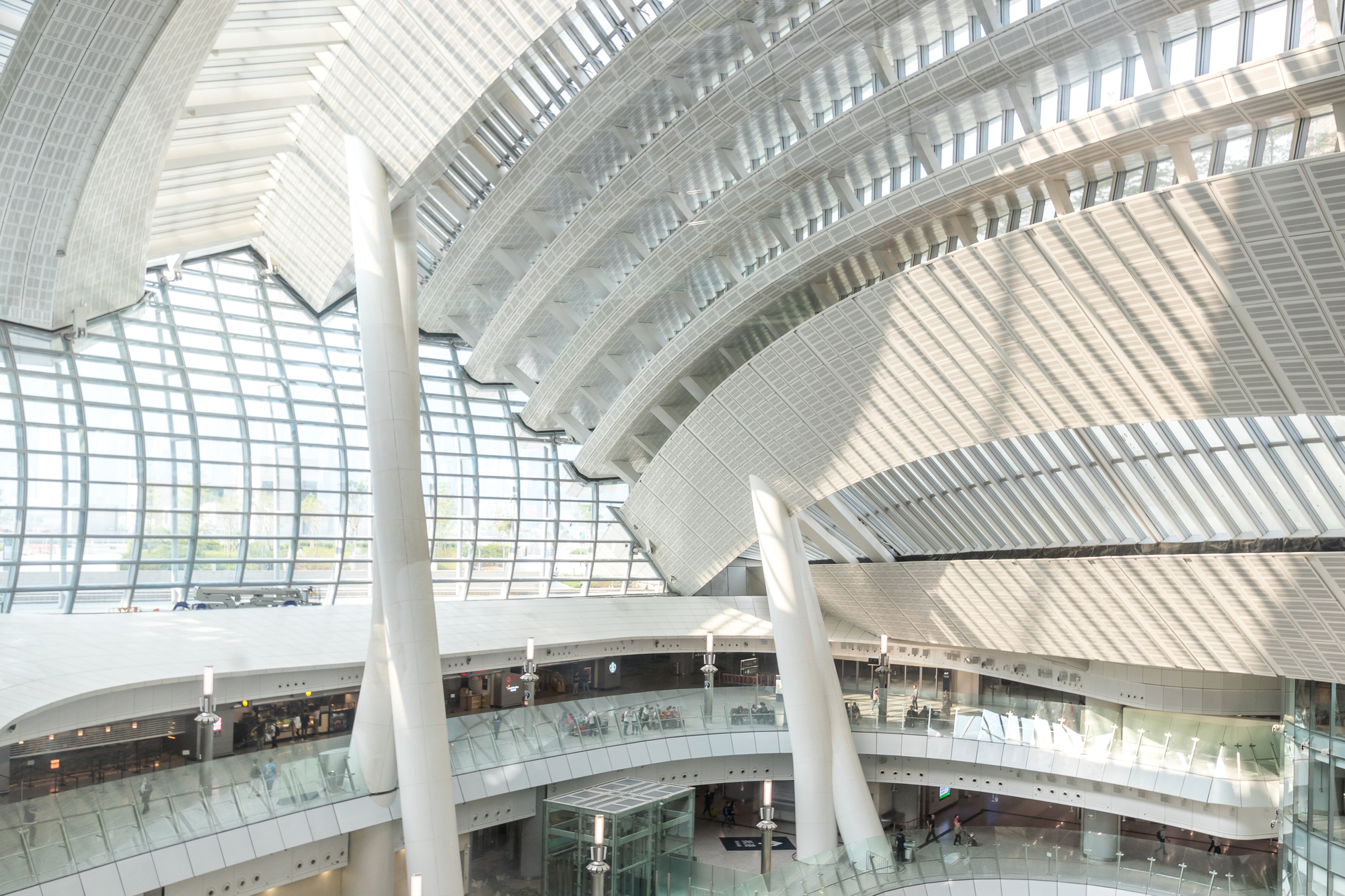 West Kowloon HSR Station Photographed Through the Lens of Kris Provoost