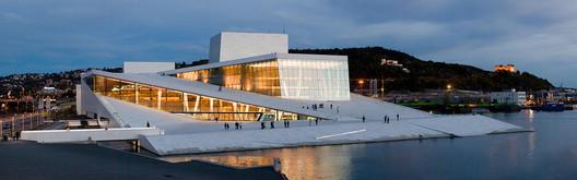 Courtesy of Wikimedia.. ImageThe Oslo Opera