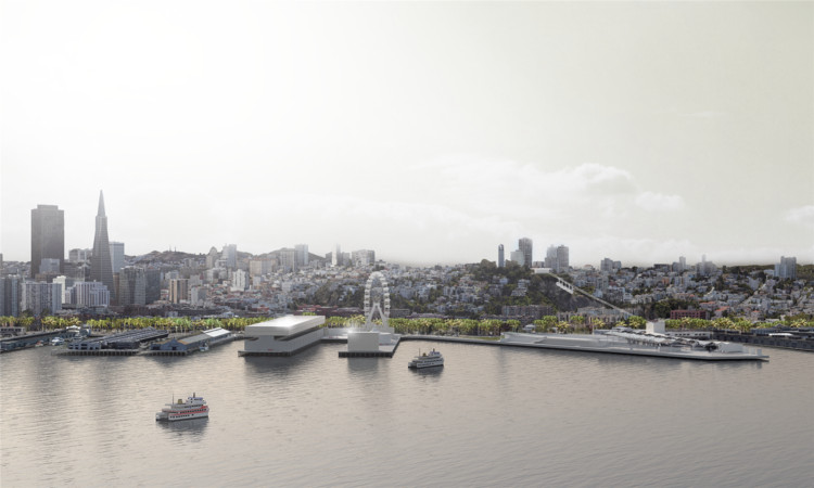 HASSELL Envisions a Restorative Redesign For San Francisco's Crumbling Waterfront , Courtesy of HASSELL