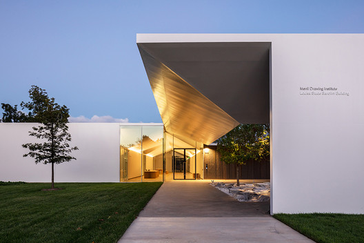 The Menil Drawing Institute / Johnston Marklee. Image © Courtesy Richard Barnes/ the Menil Collection, Houston