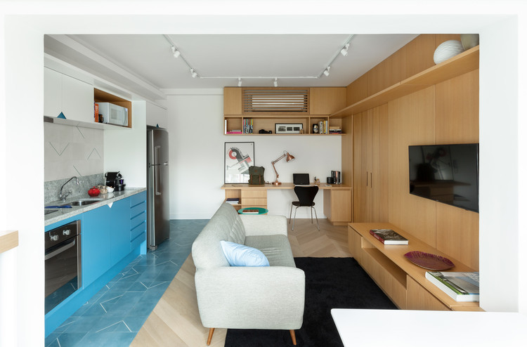 Apartamento Três / Fábrica Arquitetos, © Manuel Sá
