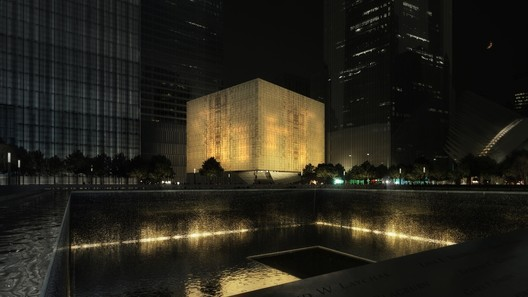 The Ronald O. Perelman Performing Arts Center at the World Trade Center / REX. Image Courtesy of REX