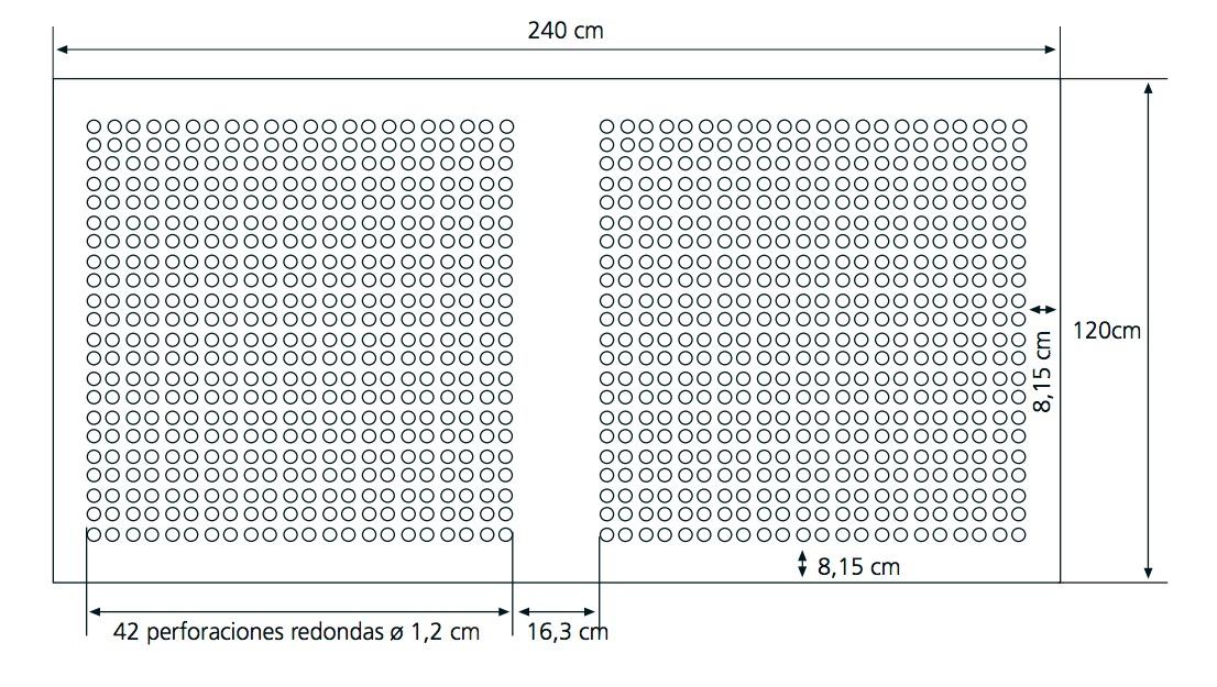 Galer a de c mo mejorar el confort ac stico con planchas de yeso cart n perforadas 8 - Planchas de yeso ...