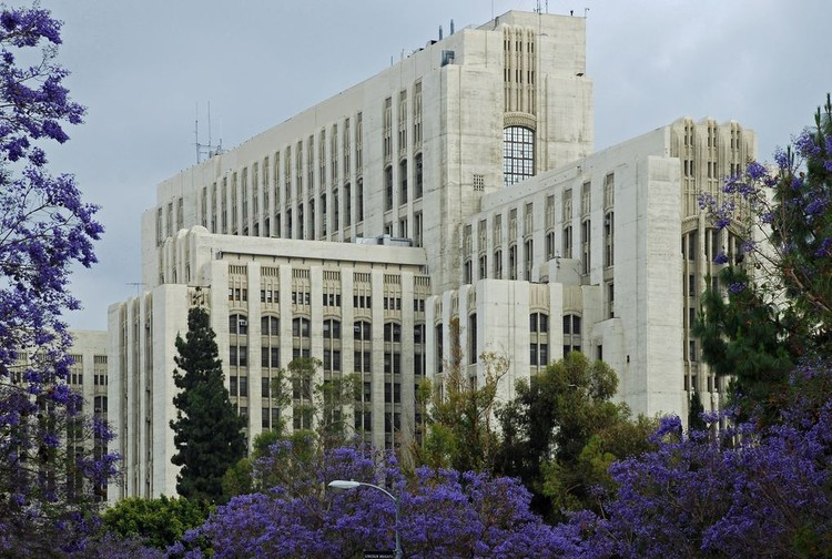 L.A. Plans to Repurpose General Hospital as Affordable Housing, LA General Hospital. Image Courtesy of Los Angeles County