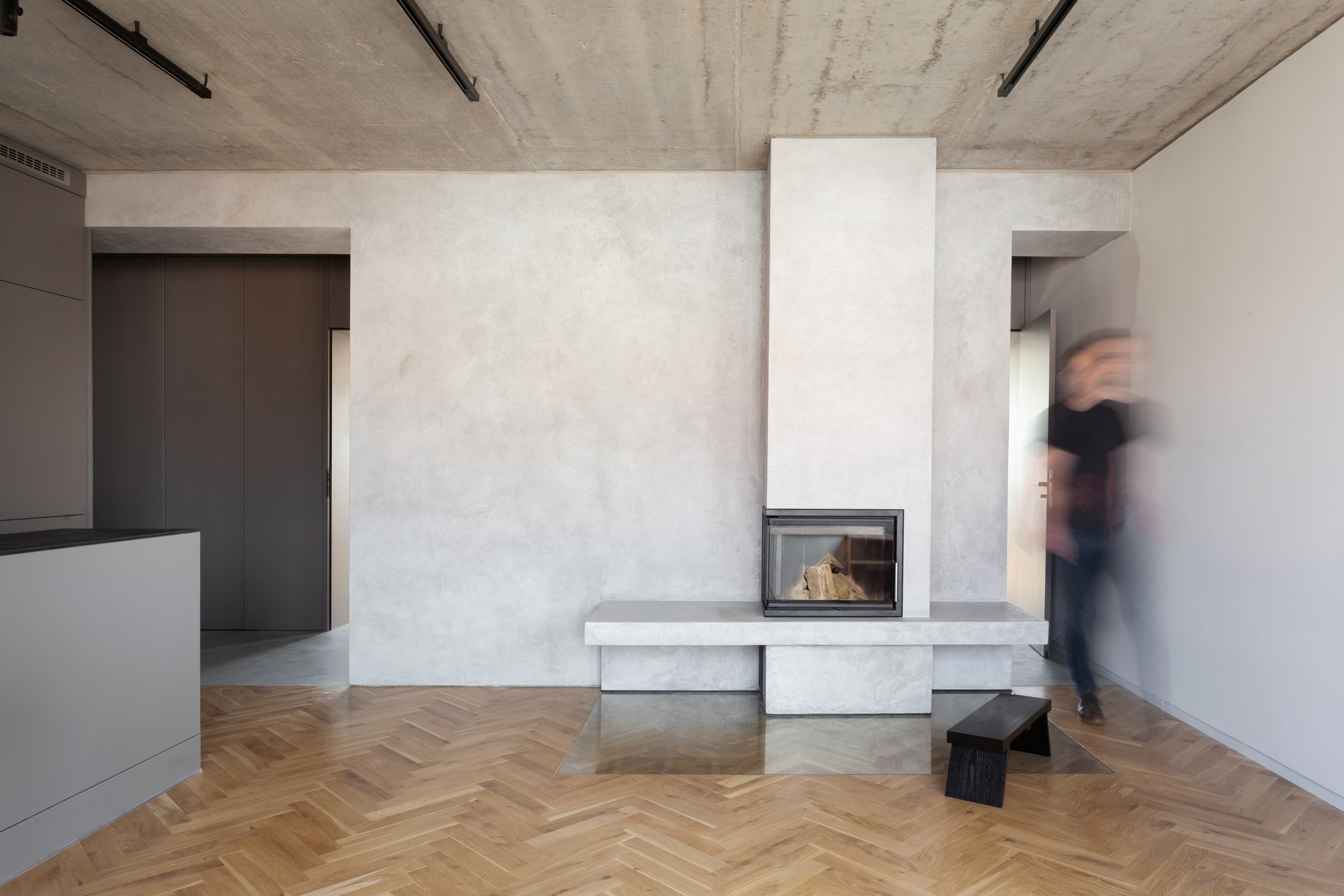 Minimalist Apartment In Prague Collarch Archdaily