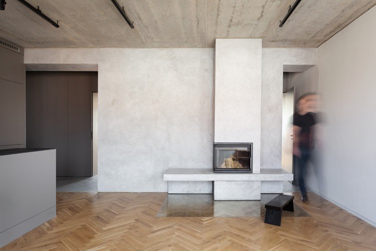 Minimalist Apartment In Prague Collarch Archdaily