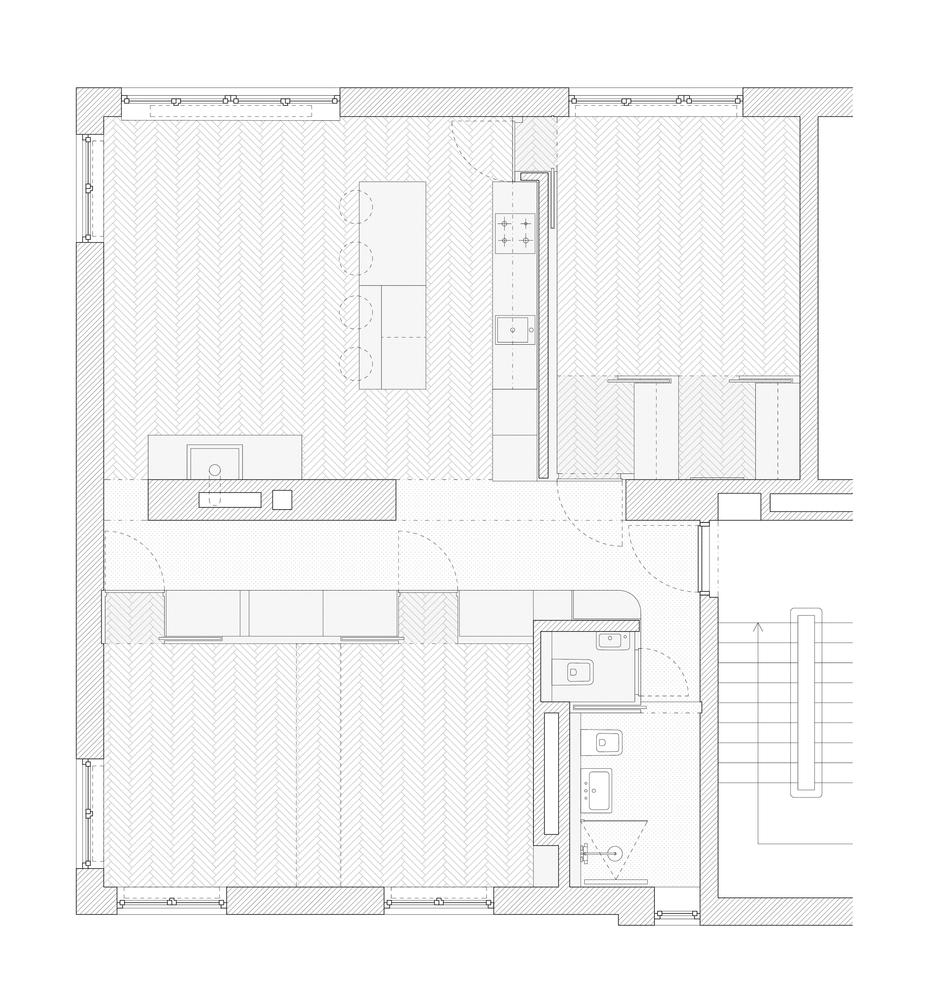 Gallery Of Minimalist Apartment In Prague Collarch 28