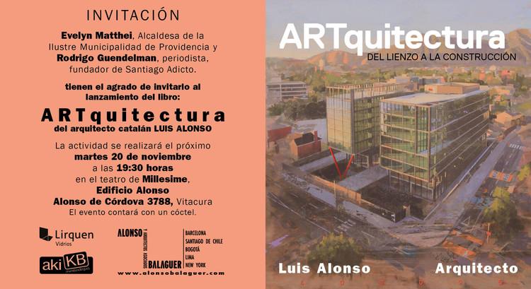 Luis Alonso lanza libro ART-quitectura , Estudio Alonso&Balaguer
