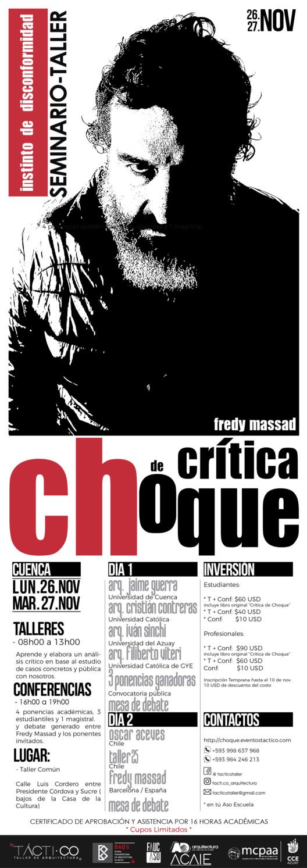 Crítica de choque con Fredy Massad en Cuenca, Juan Pablo Astudillo