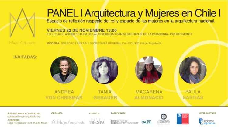 Panel Arquitectura y Mujeres en Chile, Equipo MujerArquitectA