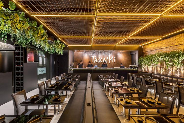 Restaurante de sushi TAKESHI / Studio Bloco Arquitetura, © Marcelo Donadussi