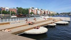 Fredriksdalskajen / Nivå Landskapsarkitektur