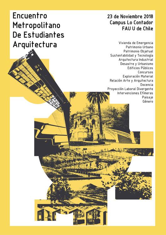 Encuentro Metropolitano de Estudiantes de Arquitectura, Marcelo Painevilo C. Estudiante Arquitectura UDP