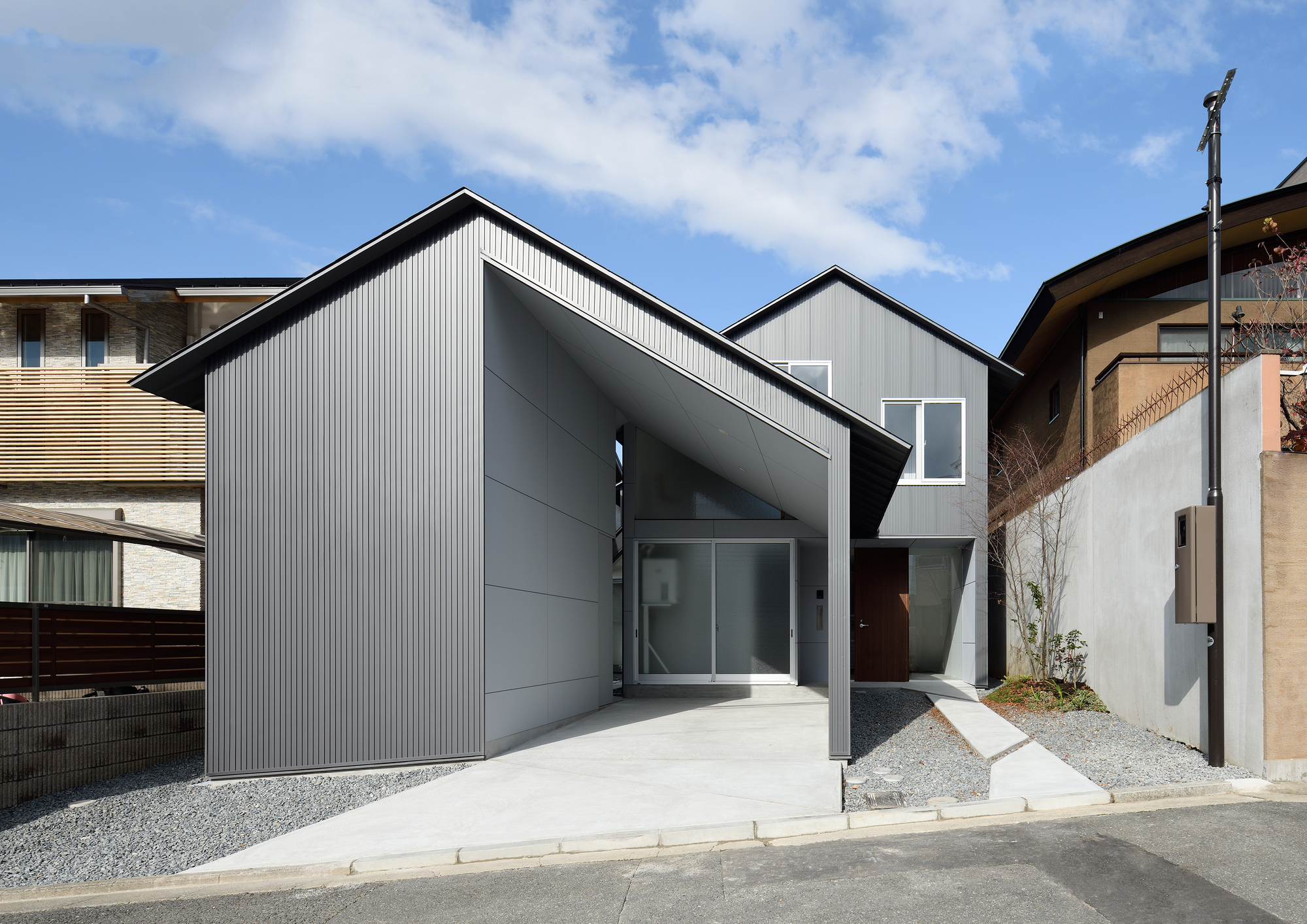 Gable Roof House Alphaville Architects Archdaily