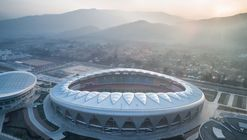 Linxia Olympic Sports Center Stadium / DUTStudio