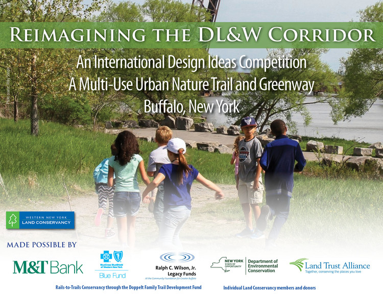 Call for Entries:  International Design Ideas Competition - A Multi-Use Urban Nature Trail and Greenway in Buffalo, New York, Reimagining the DL&W Corridor: International Design Ideas Competition for a Multi-Use Urban Nature Trail & Greenway in Buffalo, New York. Photo by Abby Songin.