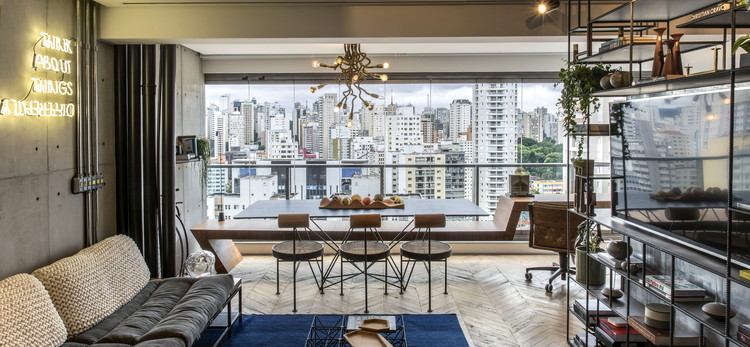 Apartamento RZ / ZALC Arquitetura + Rua 141, © Rômulo Fialdini