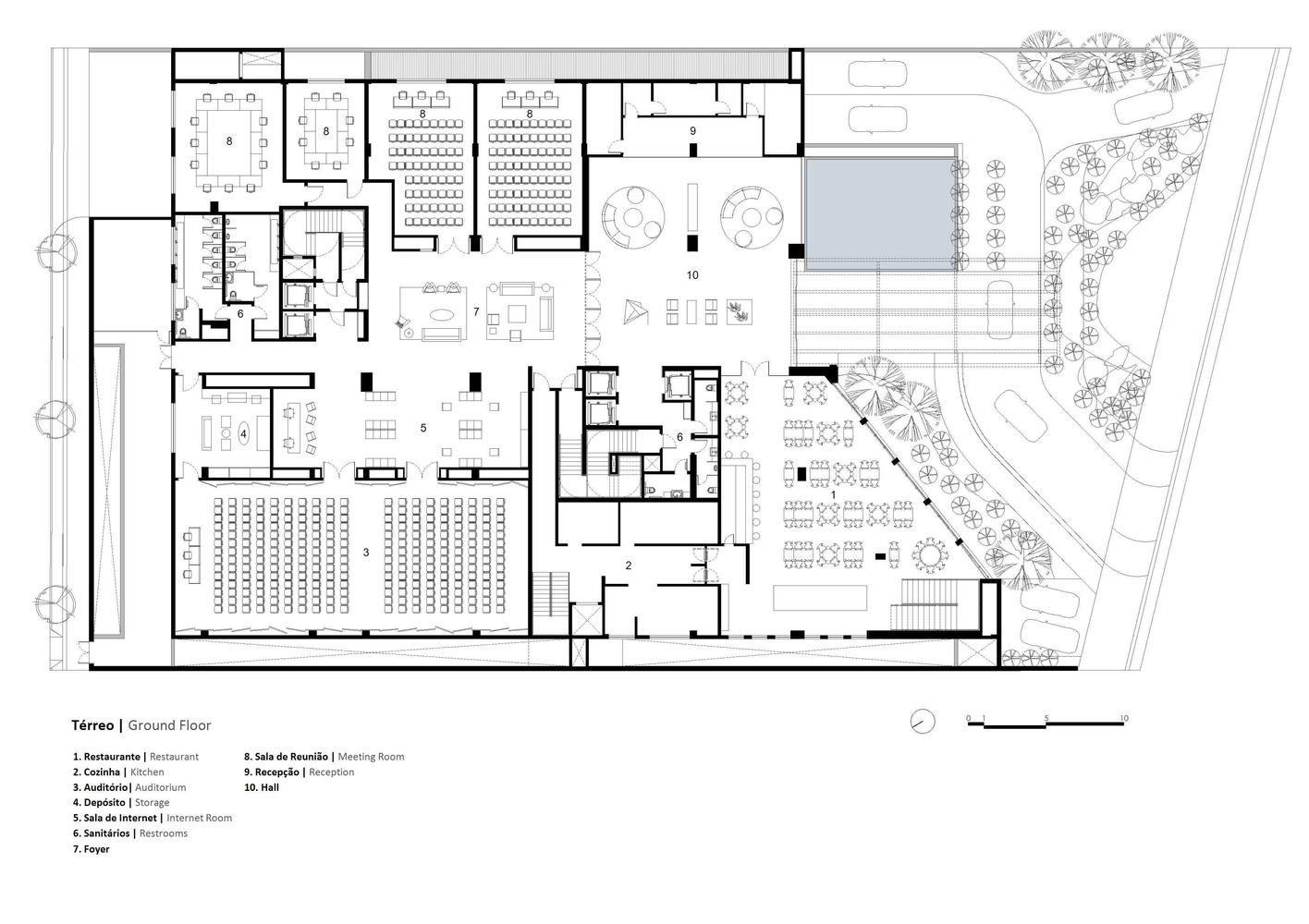 Wyndham Garden Hotel / N2B Arquitetura
