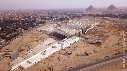 """One of the four concurrent mobile workshops of the LafargeHolcim Forum is dedicated to """"archeology heritage"""" and will give participants a glimpse into Egypt's efforts to save a rich and amazing cultural heritage. Participants will also visit the under-construction project of the Grand Egyptian Museum. c GEM Engineering Committee"""