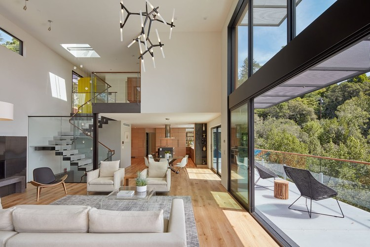 HillSide House / Zack | de Vito Architecture + Construction, © Bruce Damonte