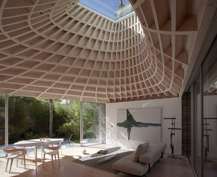 Casa en un Jardín / Gianni Botsford Architects, © Edmund Sumner