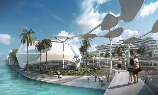 Ocean's Heaven. Image Courtesy of CAA Architects