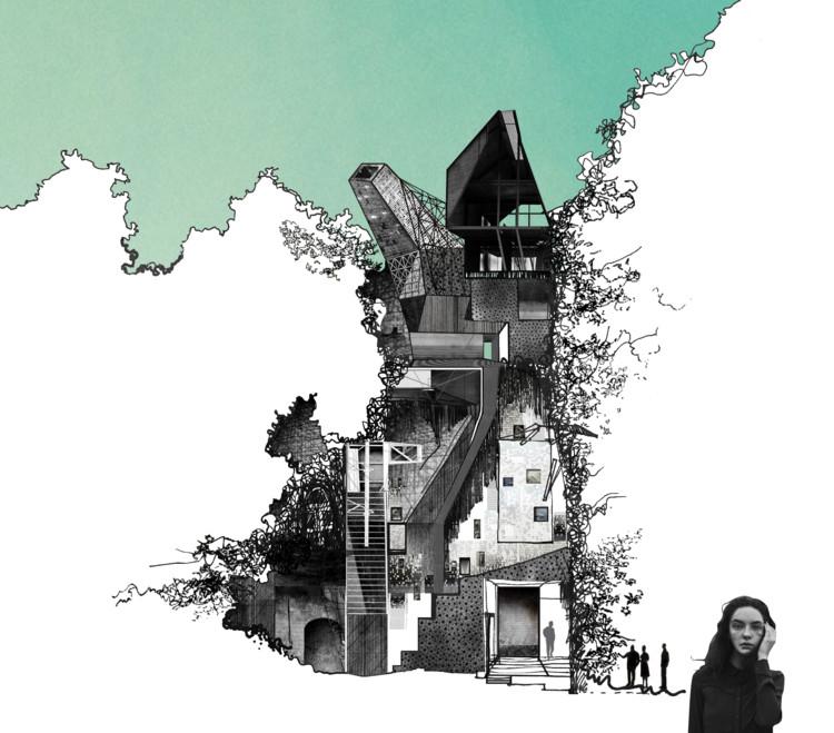 ¿Hace cuánto que no dibujamos (o hablamos de) lo que soñamos para la arquitectura?, © CHACQA