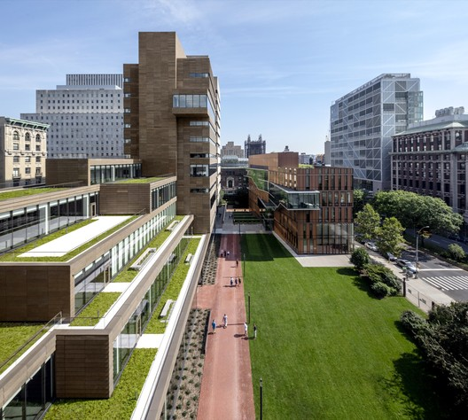 Barnard College, The Milstein Center / Skidmore, Owings & Merrill