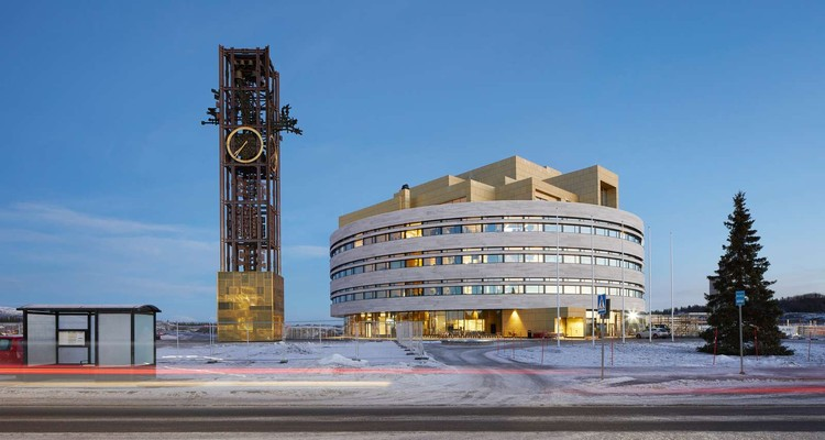 The Crystal - Kiruna Town Hall / Henning Larsen, © Hufton + Crow