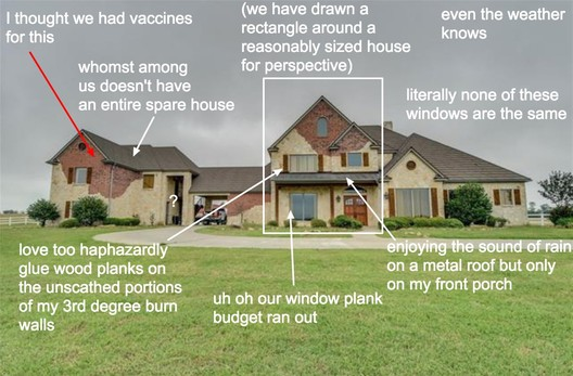 A typical post of McMansion Hell. Wagner's take on criticism is decidedly open, from the language to the subject material. Image via CommonEdge