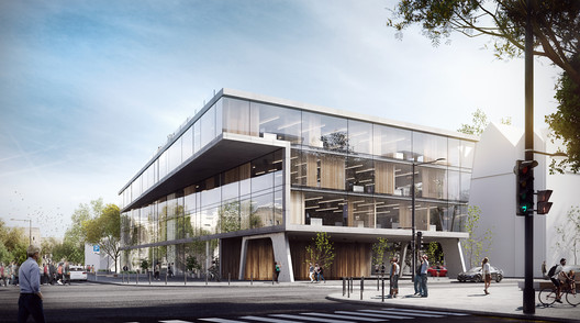 Vilnius Multifunctional Complex. Image Courtesy of MAD Architects