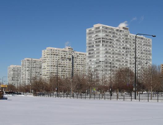 The Prairie Shores Development in Bronzeville, Chicago . Image