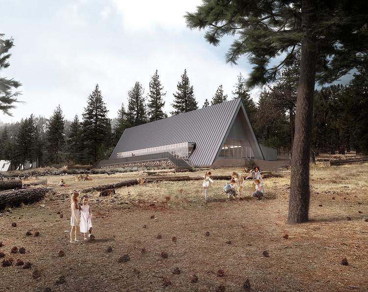 Perkins+Will Design A-Frame Cabins for California's Camp Lakota, Camp Lakota. Image Courtesy of Perkins+Will