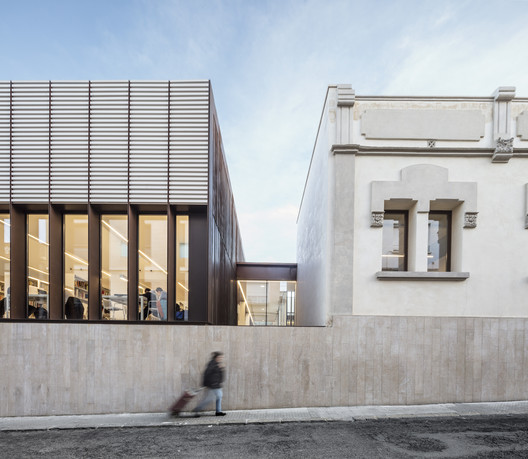 Sant Sadurní d'Anoia Cultural Center and Archive Library / taller 9s arquitectes