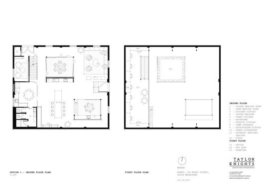 Floor Plans Option 1