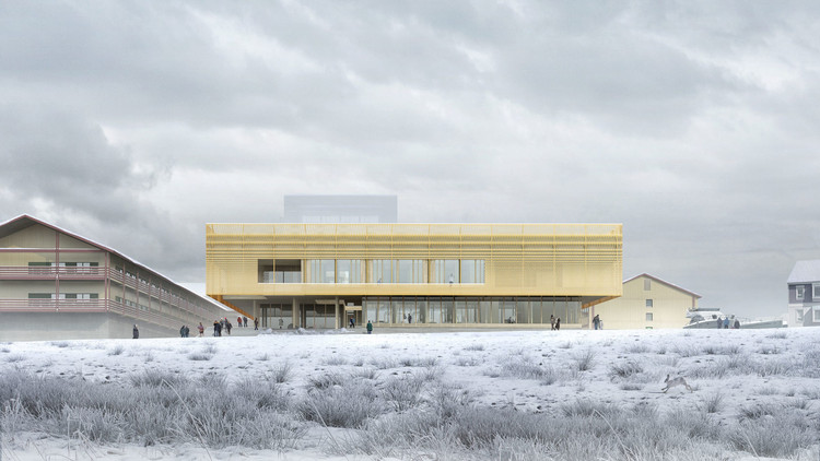 White Arkitekters Design For Nuuks Psychiatric Clinic Emphasizes
