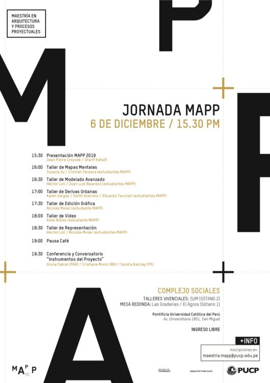 Jornada MAPP en la PUCP, @MAPP_PUCP