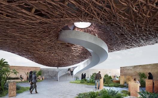 Brazil Pavilion. Image Courtesy of Gabriel Kozlowski