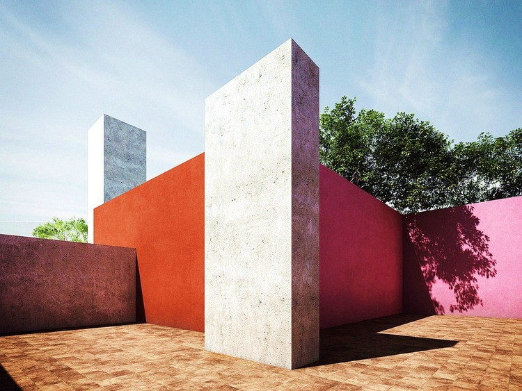 Architecture Guide: Luis Barragán, Flickr: LrBln. Used under Creative Commons