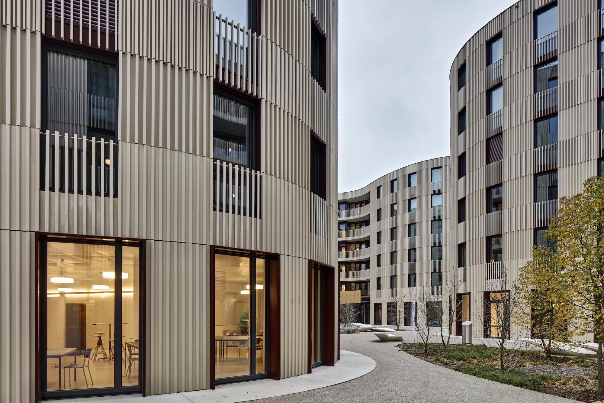 TWIST Studentisches Wohnen ETH Zürich / architektick | ArchDaily